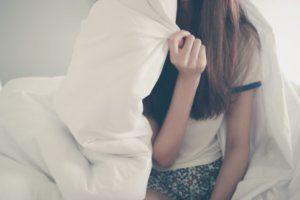 寝起きの髪の毛