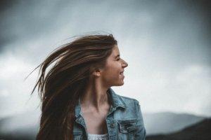 柔らかい髪の毛